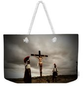 Crucifixion Scene Of Roman Movie Weekender Tote Bag