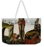 Crucifixion With Mary Magdalene Weekender Tote Bag