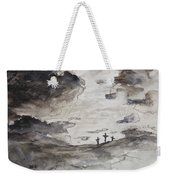 Crucifixtion Weekender Tote Bag