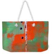 Cruciform 2 Weekender Tote Bag by Nancy Merkle