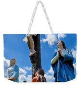 Cruficix Statue At St Alphonsus Church Wexford  Weekender Tote Bag