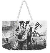 Cruikshank: Headache, 1819 Weekender Tote Bag