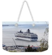 Cruising Out Of Astoria Weekender Tote Bag