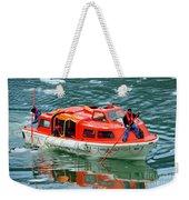 Cruise Ship Tender Boat  Weekender Tote Bag