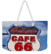 Cruisers Cafe 66 Sign Weekender Tote Bag