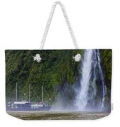 Cruising By A Waterfall Weekender Tote Bag