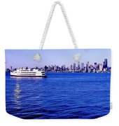 Cruising Elliott Bay Weekender Tote Bag