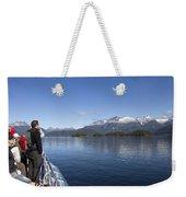 Cruising Inn Doubtful Sound South Island New Zealand Weekender Tote Bag