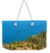 Cruising Jenny Lake Weekender Tote Bag