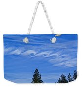 Cruising Over Spokane Weekender Tote Bag