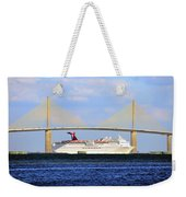 Cruising Tampa Bay Weekender Tote Bag by David Lee Thompson