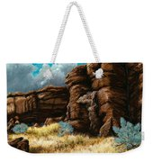 Crumbling Cliffs At Harney Or Weekender Tote Bag