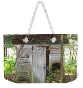 Crumbling Old Outhouse Weekender Tote Bag
