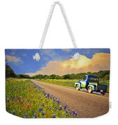 Crusin' The Hill Country In Spring Weekender Tote Bag