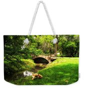 Cruz At Deer Creek Bridge Dwight Il Weekender Tote Bag