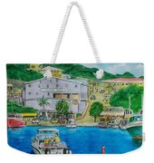 Cruz Bay St. Johns Virgin Islands Weekender Tote Bag