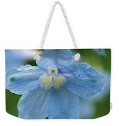 Crystal Blue Weekender Tote Bag