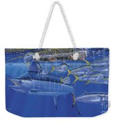 Crystal Blue Off00100 Weekender Tote Bag