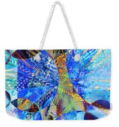 Crystal Blue Persuasion Weekender Tote Bag