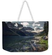 Crystal Clear Mountain Lake Weekender Tote Bag