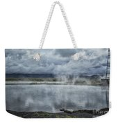Crystal Crane Hot Springs Weekender Tote Bag