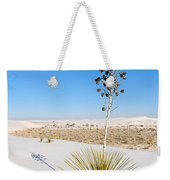 Crystal Dune Tree At White Sands National Monument In New Mexico. Weekender Tote Bag