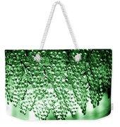 Crystal Green Weekender Tote Bag