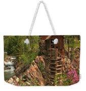 Crystal Mill Wildflowers Weekender Tote Bag