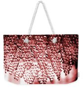 Crystal Red Weekender Tote Bag