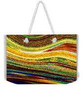 Crystal Waves Abstract 1 Weekender Tote Bag