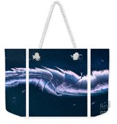 Crystalline Entity Triptych  Weekender Tote Bag