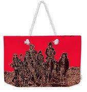 C.s. Fly Photo Geronimo Surrender Collage 1887-2009 Weekender Tote Bag