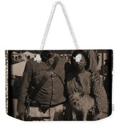 Csa Cavalryman And Wife Weekender Tote Bag