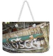 Cuban Refugees Boat 2 Weekender Tote Bag