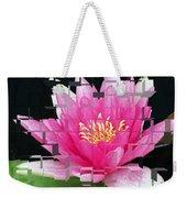 Cubed Lily Weekender Tote Bag