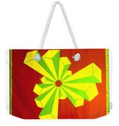 Cubism In Wheat-shire Weekender Tote Bag