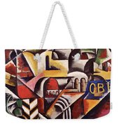 Cubist Cityscape, 1914 Weekender Tote Bag