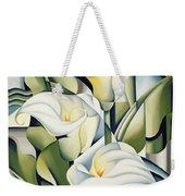 Cubist Lilies Weekender Tote Bag