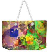 Flowers In Round Bowls - Outdoor Markets Of New York City Weekender Tote Bag