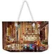 Grand Central And 42nd St Weekender Tote Bag