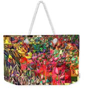 Tulips Of Many Colors - Nyc Markets Weekender Tote Bag