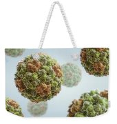 Cucumber Mosaic Virus Weekender Tote Bag