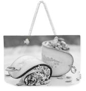 Cucumber Rolls Black And White Weekender Tote Bag