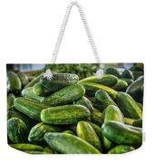 Cucumbers Weekender Tote Bag