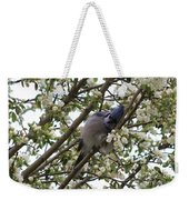 Cuddling The Blossoms Weekender Tote Bag