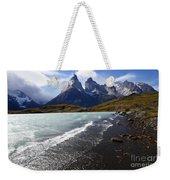 Cuernos Del Paine Patagonia 3 Weekender Tote Bag