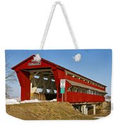 Culbertson Or Treacle Creek Covered Bridge Weekender Tote Bag