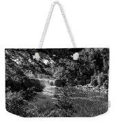 Cumberland Falls Black And White Weekender Tote Bag