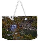 Cumberland Falls E Weekender Tote Bag
