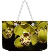 Cumbidium Orchid Weekender Tote Bag